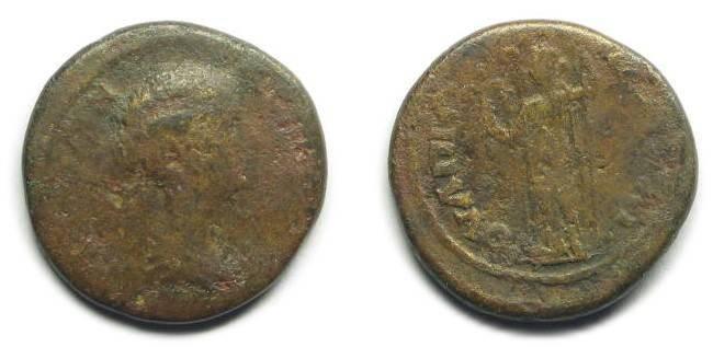 Ancient Coins - Pautalia, Thrace; Faustina II.
