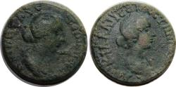 Ancient Coins - Mallus, Cilicia; Faustina II. and Lucilla