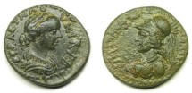 Ancient Coins - Miletopolis, Mysia; Lucilla