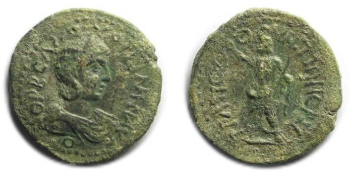 Ancient Coins - Trapezus, Pontus; Orbiana