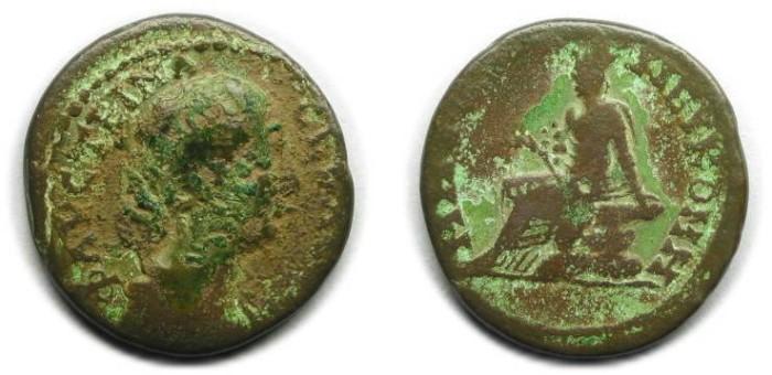 Ancient Coins - Nicomedia, Bithynia; Faustina II.