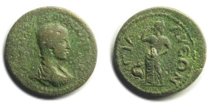 Ancient Coins - Sillyon, Pamphylia; Philip II.