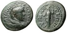 "Ancient Coins - Caracalla AE24 ""Athena With Owlet & Spear"" Thrace Byzantion (Byzantium) Rare"
