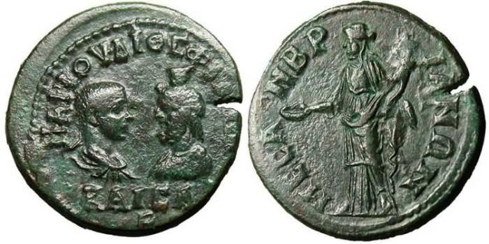"Ancient Coins - Philip II & Serapis, AE 27 ""Homonia"" Thrace, Mesembria"