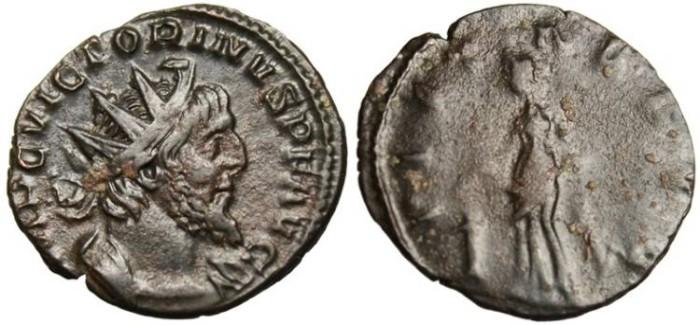 "Ancient Coins - Victorinus, AE Ant. ""Pietas"" Cologne RIC 57"