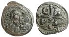 "Ancient Coins - Romanus IV Diogenes AE Follis ""Facing Christ & CR PD in Cross"" Scarce"