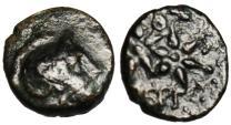 """Ancient Coins - Mysia, Pergamon AE10 """"Athena & Two Stars"""" 300 BC"""