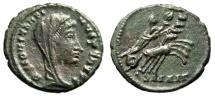 "Ancient Coins - Divus Constantine I The Great Posthumous ""Quadriga, Hand of God"" Alexandria gVF"