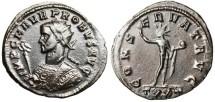 """Ancient Coins - Probus Bronze AE Ant. """"CONSERVAT AVG Sol"""" Ticinum RIC 349 VF"""