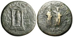 """Ancient Coins - Augustus """"Demos Crowning M Plautius Silvanus"""" Mysia Pergamon"""