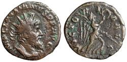 "Ancient Coins - Laelianus AE Antoninianus ""VICTORIA AVG Victory"" Cologne RIC 9 Very Rare VF"