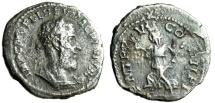 "Ancient Coins - Macrinus Denarius ""Pax Running Left"" RIC Unlisted Unpublished Excessively Rare"