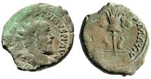 "Ancient Coins - Postumus Double Sestertius ""GERMANICVS MAX V Germanic Trophy"" RIC 198 Rare VF"