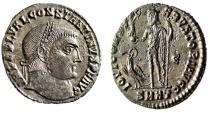 "Ancient Coins - Constantine I The Great Follis ""IOVI CONSERVATORI AVGG Jupiter"" Heraclea 75 EF"