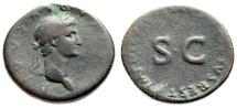"""Ancient Coins - Divus Augustus (Restoration Under Nerva) AE Sestertius """"SC"""" RIC 136 Scarce"""
