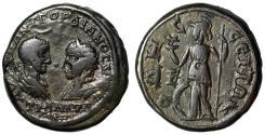 "Ancient Coins - Gordian III & Tranquillina Pentassarion of Odessos ""Athena, Owl"" VF"