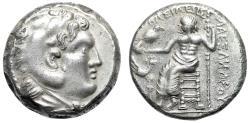 Ancient Coins - Alexander III The Great AR Tetradrachm Eastern Imitative of Tarsos Very Rare EF