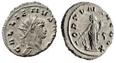 "Ancient Coins - Gallienus Silvered Antoninianus ""FORTVNA REDVX Fortuna, Fortune"" RIC 193 EF"