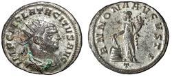 """Ancient Coins - Tacitus Silvered Antoninianus """"ANNONA AVGVSTI Annona"""" Ticinum RIC 124 Scarce"""