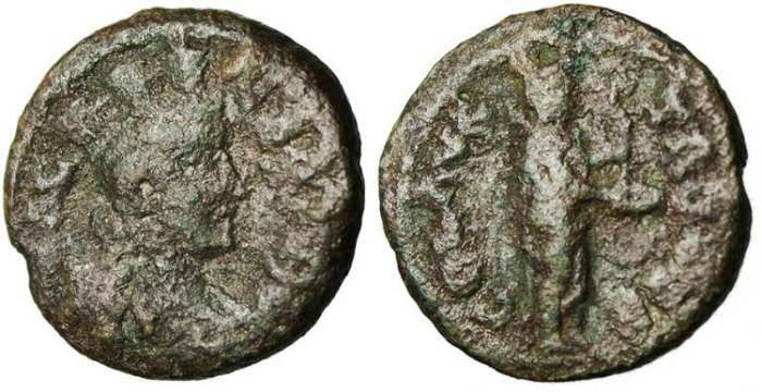 """Ancient Coins - Troas, Alexandria Autonomous Issue """"Apollo Smintheus"""""""