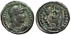 """Ancient Coins - Constantine I The Great AE21 """"CONSTANTIANA DAFNE Victory"""" Constantinople Near EF"""