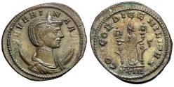 "Ancient Coins - Severina (Wife of Aurelian) Antoninianus ""Concordia"" Rome RIC 4 Good VF"