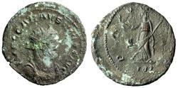 """Ancient Coins - Carausius (Romano-British Usurper) Antoninianus """"Pax"""" Londinium Fine"""