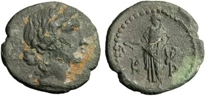 """Ancient Coins - Lycia, Cragus """"Apollo With Lyre & Plectrum"""" Von Aulock 4310 Rare"""