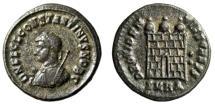 "Ancient Coins - Constantine II ""Campgate, Two Pellets"" Heraclea RIC Unlisted Officina Very Rare"