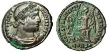 """Ancient Coins - Constantine I Great """"CONSTANTINIANA DAFNE Victory Seated"""" Constantinople R4 Rare"""