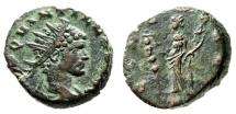 """Ancient Coins - Quintillus AE Antoninianus """"CONCO EXER Concordia"""" Milan (Mediolanum) RIC 45 nEF"""