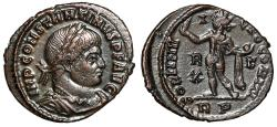 """Ancient Coins - Constantine I The Great AE22 """"Sol with Globe"""" Rome RIC 27 gVF"""
