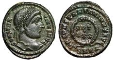 "Ancient Coins - Constantine I The Great AE19 ""DN CONSTANTINI MAX AVG VOT XXX"" Heraclea Near EF"