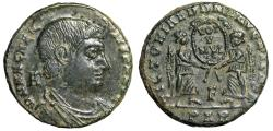 """Ancient Coins - Magnentius Centenionalis """"Two Victories, VOT V MVLT X"""" Arles RIC 173 VF Scarce"""