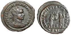 "Ancient Coins - Maximian AE Radiate ""Jupiter & Emperor, Victory"" Tripolis Mint Very Scarce"