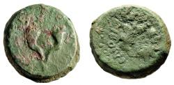 "Ancient Coins - Hasmonean Kingdom of Judea: Mattathias Antigonos 8 Prutot ""Cornucopia & Wreath"""