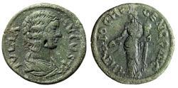 "Ancient Coins - Julia Domna AE23 ""Genius of the City"" Pisidia, Antioch VF"