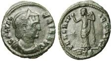 """Ancient Coins - gVF Galeria Valeria Bronze Follis """"Venus"""" Heraclea RIC 50 Excellent Green Patina"""