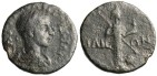 """Ancient Coins - Gordian III AE18 """"Athena Illias"""" Troas, Illium (Troy) Mint Very Rare"""