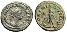 "Ancient Coins - Macrianus Antoninianus ""APOLINI CONSERV Apollo"" Unpublished Reverse Legends Extremely Rare"
