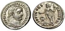 "Ancient Coins - Constantine I The Great Follis ""Jupiter"" Heraclea RIC Unrecorded Very Rare nEF"