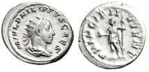 "Ancient Coins - Philip II Silver Antoninianus ""PRINCIPI IVVENT"" Rome 244-246 AD RIC 218d nEF"