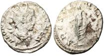"Ancient Coins - Saloninus Silver AR Ant. ""Spes"" Son of Gallienus RIC 13"