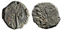 """Ancient Coins - Pontius Pilate AE Prutah """"Lituus & LIZ Wreath"""" Prefect Under Tiberius 30 AD"""