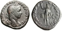 "Ancient Coins - Severus Alexander Sestertius ""Sol"" RIC 500"