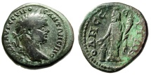 "Ancient Coins - Caracalla AE26 ""Great god of Odessos at Altar"" Thrace, Odessus Nice Fine"