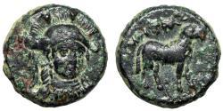 "Ancient Coins - Ionia, Klazomenai AE12 ""Athena Facing & Ram Standing"" Good VF"