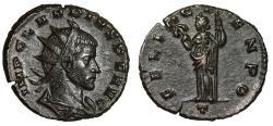 """Ancient Coins - Claudius II Gothicus AE Antoninianus """"FELIC TEMPO Felicitas"""" Milan RIC 145 EF"""