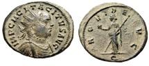 """Tacitus AE Antoninianus """"PROVIDE AVG Providentia"""" Ticinum RIC 152 Desert Patina"""