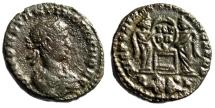"""Ancient Coins - Constantine II """"Two Victories, Altar, Captives PL Exergue"""" Lyons RIC 90 Rare"""